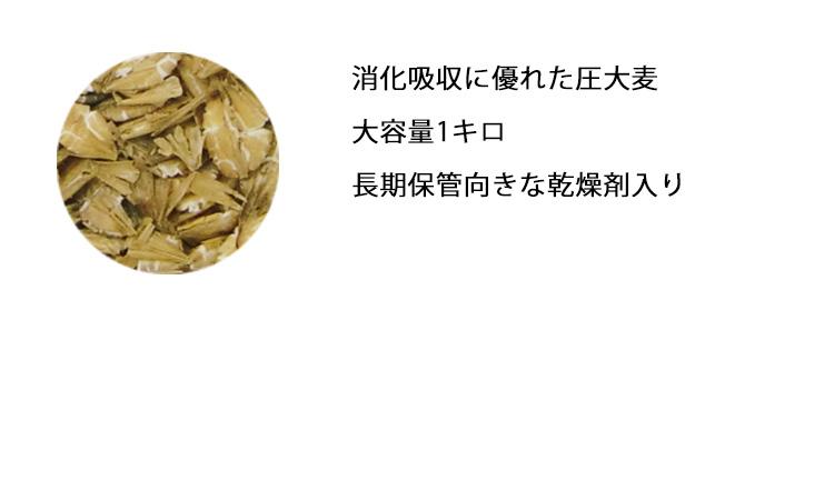 消化吸収に優れた圧大麦